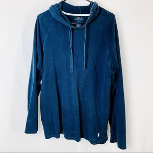 Polo by Ralph Lauren Navy Blue Waffle Knit Sweater
